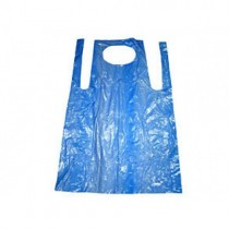 "Blue Flat Pack Aprons - 27 x 42"" - Case of 1000"