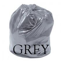 "Grey Refuse Sack - 18 x 32 x 40"" - Case of 200"