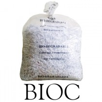 "Clear Bio-Degradable Refuse Sacks - 18 x 29 x 39"" - BIOC - Case of 200"