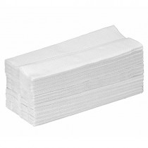 White 2 Ply C-Fold Hand Towel HTW240 - 2400 Sheets per case