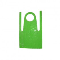 "Green Flat Pack Aprons - 27 x 42"" - Case of 1000"