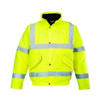 Hi Vis Padded Jacket - Single